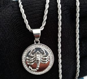 ICY SCORPIO NECKLACE for Sale in Los Angeles, CA