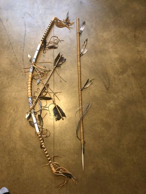 Navajo now and spear for Sale in Phoenix, AZ
