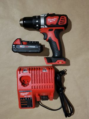 MILWAUKEE 1/2 DRILL DRIVER KIT for Sale in Greenville, SC