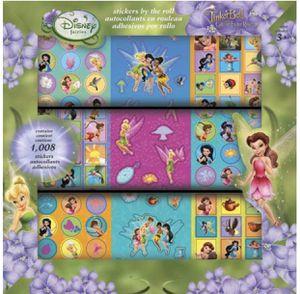 Disney Fairies Tinkerbell Great Fairy Rescue Sticker Roll 1,008 stickers for Sale in Marietta, GA