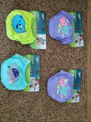 Brand new speedo reuseable swim diapers for Sale in Salem, OR