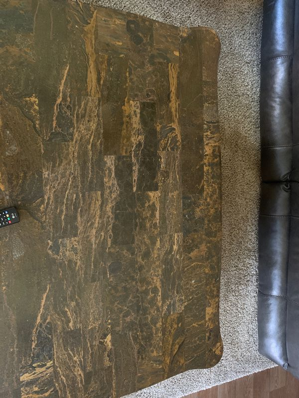 L@@K! Marble coffee table Plus 2 Free end tables Purchase Today!!