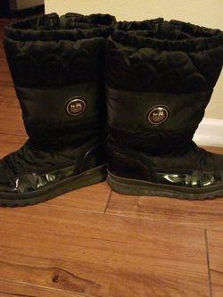 Black Coach Snow Boots for Sale in Newport Beach,  CA