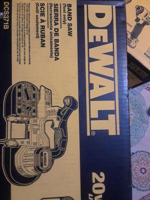 Dewalt 20v lithium max bandsaw ( tool only for Sale in San Jose, CA