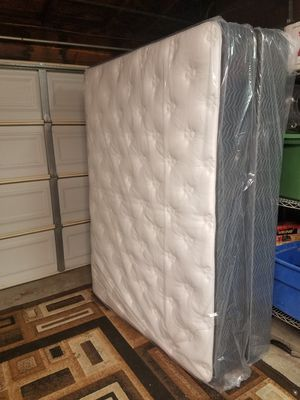Queen set mattress and box spring brand new! for Sale in San Leandro, CA