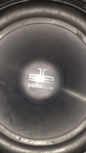 Polk audio subwoofer for Sale in Bonney Lake, WA