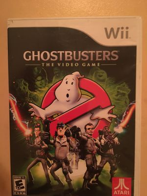 Nintendo Wii ghosts busters for Sale in Visalia, CA