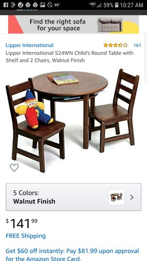 Table and Chairs for kids for Sale in Murfreesboro, TN