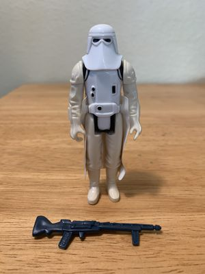 Star Wars Vintage Kenner Snow Trooper for Sale in Poway, CA