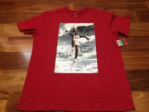 Nike Air JORDAN DUNK FROM ABOVE TEE Red (725006-687) XL NWT New for Sale in Seattle, WA