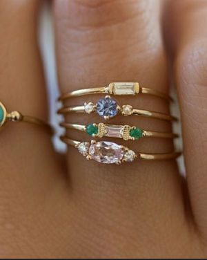4pcs Fashion Woman rings for Sale in Elgin, SC