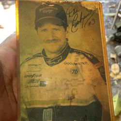 Dale Ernhardt Autographed Photo in Sleve for Sale in St. Petersburg,  FL