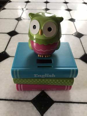 Rotating Owl Head Piggy Bank for Sale in Philadelphia, PA