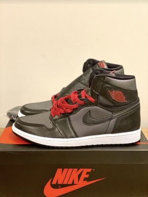 Nike Air Jordan 1 Black Satin - Size 11 for Sale in Trappe, PA