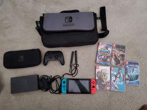 Nintendo switch pro bundle for Sale in Arlington, TX