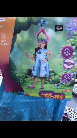 New Trolls Poppy kids costume Size Small for Sale in Riverside, CA