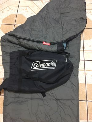 Coleman Sleeping bag with Backpack. for Sale in Houston, TX