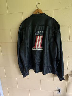 Vintage Harley Davison XXL Leather Jacket for Sale in Mount Dora, FL