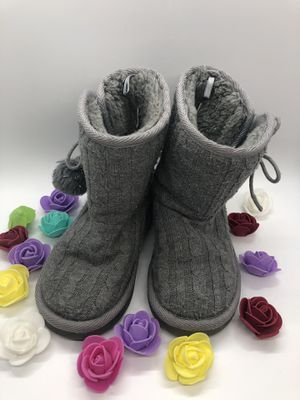 Toddler Girl's Gray Boots Size 9 for Sale in Baldwin Park, CA