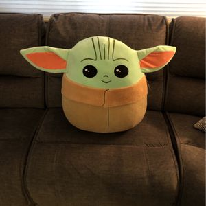 Baby Yoda squishmallow Pillow for Sale in West Bloomfield Township, MI