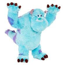 """Disney Monsters Inc Sulley 15"""" Plush Kids Stuffed Animal Toy for Sale in Eden Prairie, MN"""