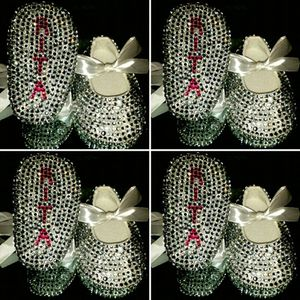 Custom bling name crib shoes for Sale in Columbus, OH