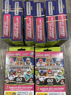 2020 NFL Rookies & Stars Football Trading Card Hanger Box for Sale in Seattle,  WA