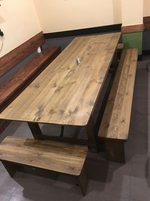 Large foldable farm table for Sale in Silver Spring, MD
