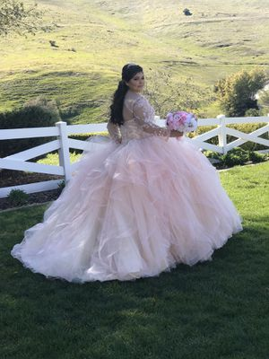 Morilee quinceanera dress with matching doll for Sale in Newark, CA