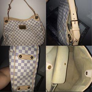 authentic Louis Vuitton Bag Damier Azur for Sale in Bloomingdale, IL