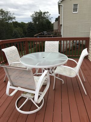 Deck/Patio furniture with umbrella for Sale in Pittsburgh, PA