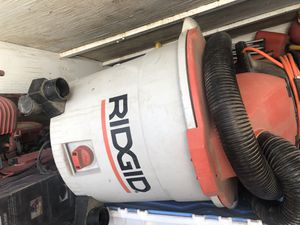 Good deal works excellent this comercial vacuum big one also come with the original hose and one pipe and one attachment only $85 dls for Sale in Victorville, CA