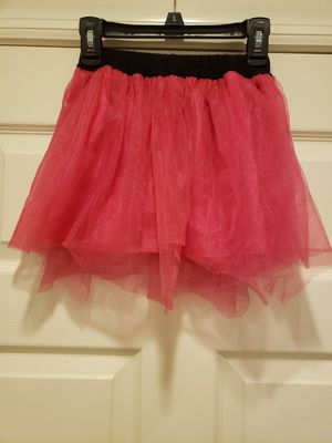 Girls Size 6 Pink/Black Elaatic Waist Skirt for Sale in Chicago, IL