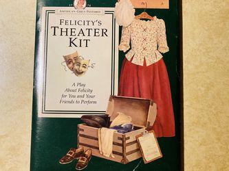 American Girl 👧 Felicity's Theater 🎭 Kit for Sale in Allen,  TX