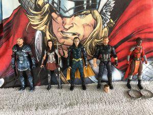 Marvel Legends MCU Executioner,Lady Sif,Loki,Captain America,Nakia for Sale in Rancho Cucamonga, CA