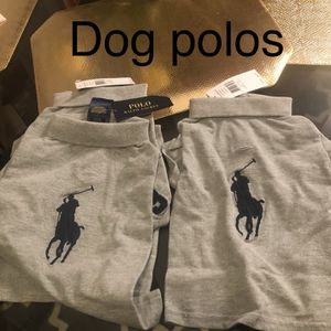 Ralph Lauren Dog Polos for Sale in Greensboro, NC