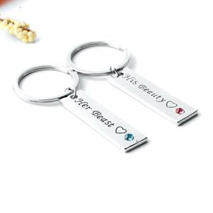 2pc Couples Beauty Beast Keychain Set for Sale in Lester, WV