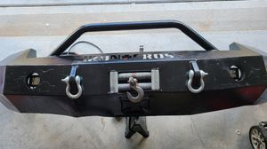 Iron Cross Bumper with winch for Sale in Brookshire, TX