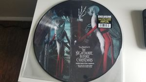 Tim Burton Nightmare Before Christmas 2 LP Vynil Picture Disc Soundtrack Brand New for Sale in Long Beach, CA