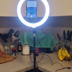 Ring Light Selfie Tripod Stand And Phone Holder for Sale in Los Angeles, CA