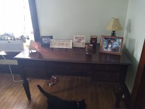 Desk solid wood for Sale in Marion, OH