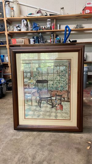 Art panting of chairs for Sale in Knoxville, TN