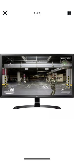 "LG 27"" 4K ips computer monitor for Sale in Cincinnati, OH"