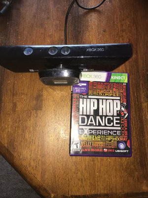 Kinect for Xbox 360 with game for Sale in Waterbury, CT