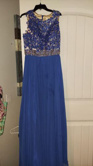 Blue small prom dress for Sale in Fontana, CA