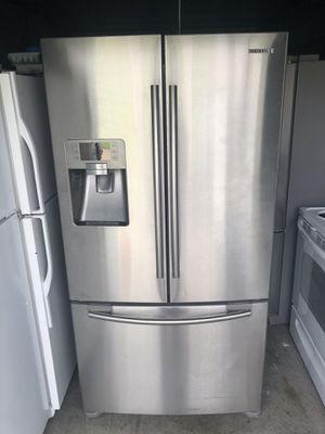 Samsung 3 Door Steinless Refrigerator for Sale in Santa Ana, CA