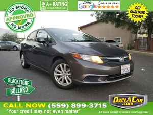 2012 Honda Civic Sdn for Sale in Fresno , CA