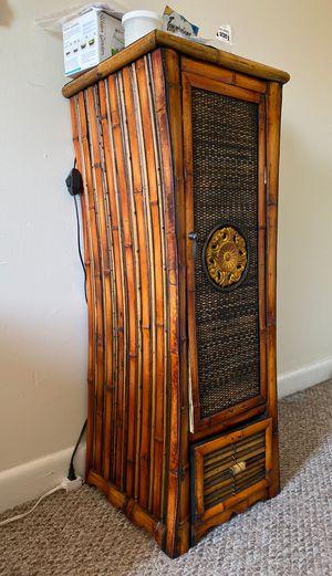Ornate bamboo cabinet for Sale in University, VA