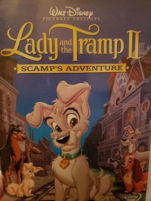 Lady and the Tramp II Scamp's Adventure DVD for Sale in Portland, OR