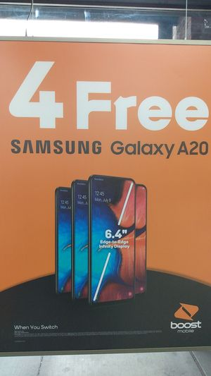 Samsung A20s for free when you switch! for Sale in Spokane, WA